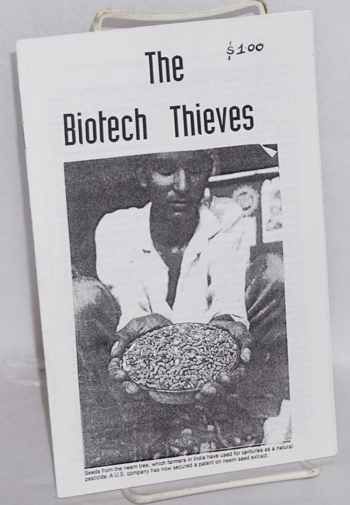 The biotech thieves. Revolutionary Communist Party.