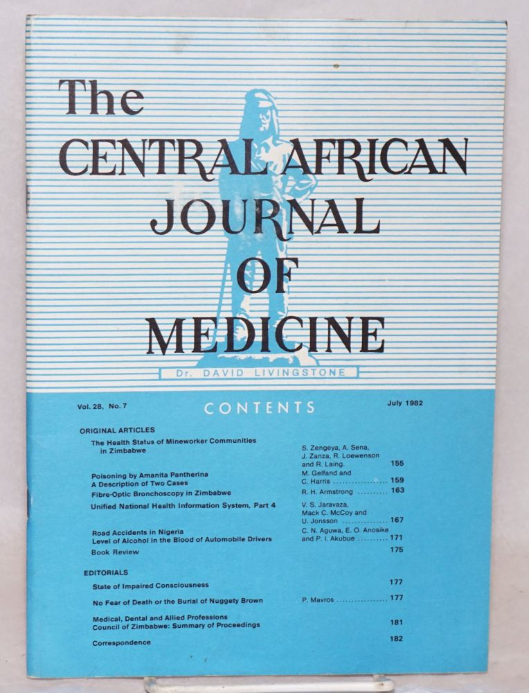 The Central African Journal of Medicine; vol. 28, no. 7, July 1982