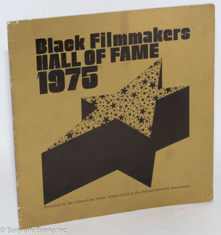 Black filmmakers hall of fame 1975 the second Oscar Micheaux awards ceremony, February 16, 1975, Paramount Theatre of the Arts, Oakland, California