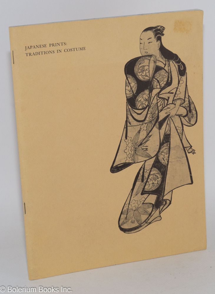 Japanese Prints: Traditions in Costume