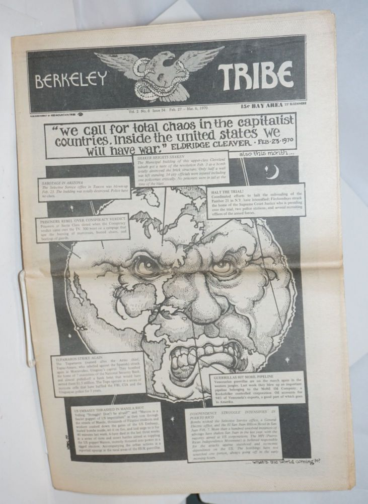 Berkeley Tribe: Vol. 2, No. 8 (#34), Feb 27-Mar 6, 1970. Red Mountain Tribe.