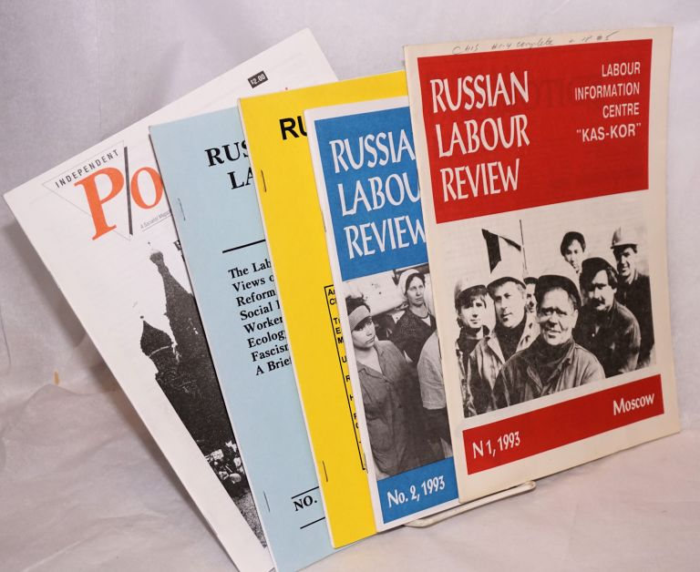 Russian labour review. Nos. 1-4