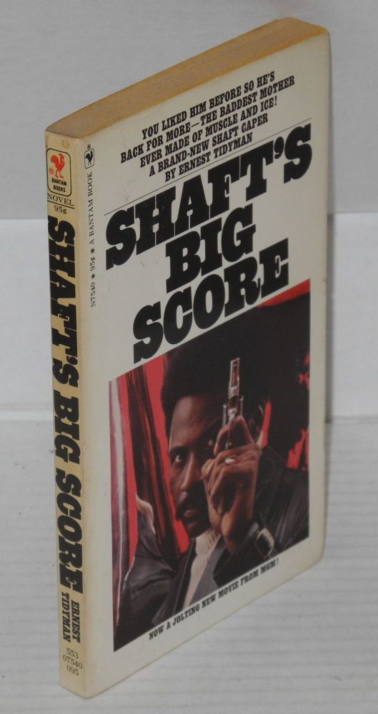 Shaft's big score. Ernest Tidyman.