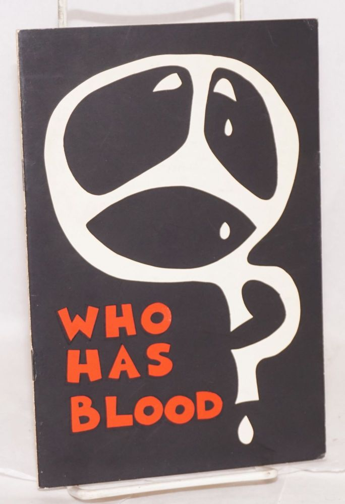 Who has blood? poems. Oyeleke Fowowe.