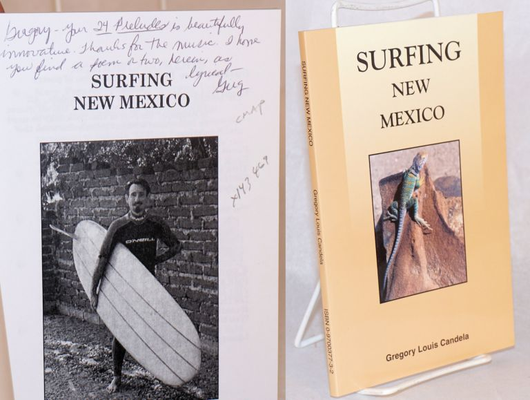 Surfing New Mexico: a collection of poetry. Gregory Louis Candela.