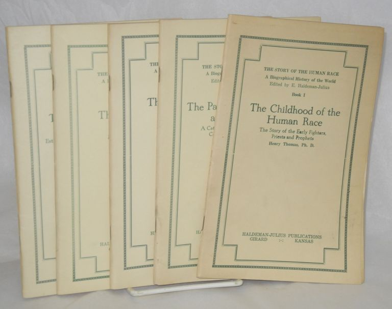 The story of the human race: a biographical history of the world (set of five volumes). Henry Thomas.