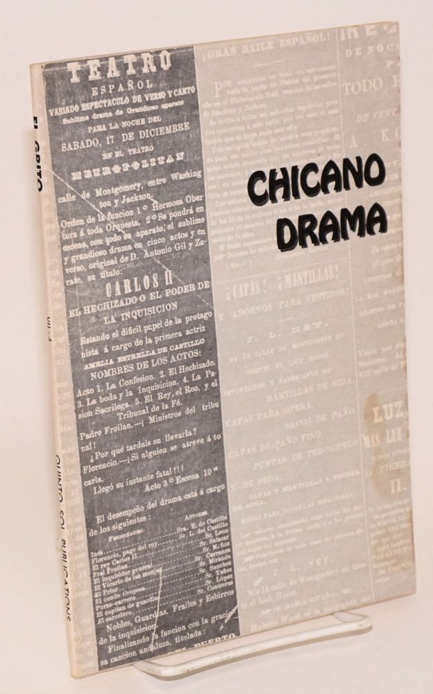 El Grito book series, Year VII, Book 4: Chicano drama