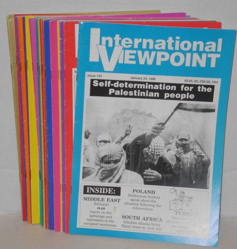 International viewpoint. [all 22 issues for 1988]. United Secretariat Fourth International.