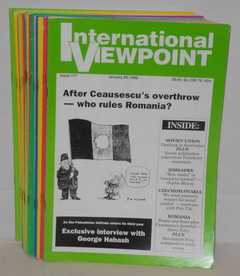 International viewpoint. [all 21 issues for 1990]. United Secretariat Fourth International.