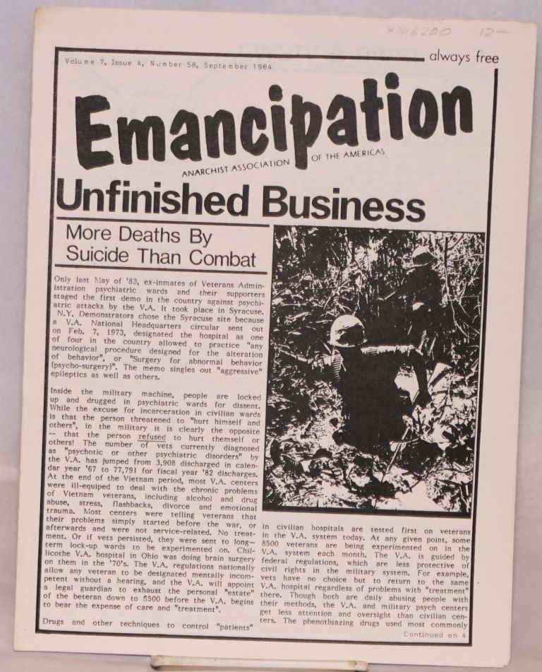 Emancipation; Vol.7, No.4, (No. 58), Sept 1984