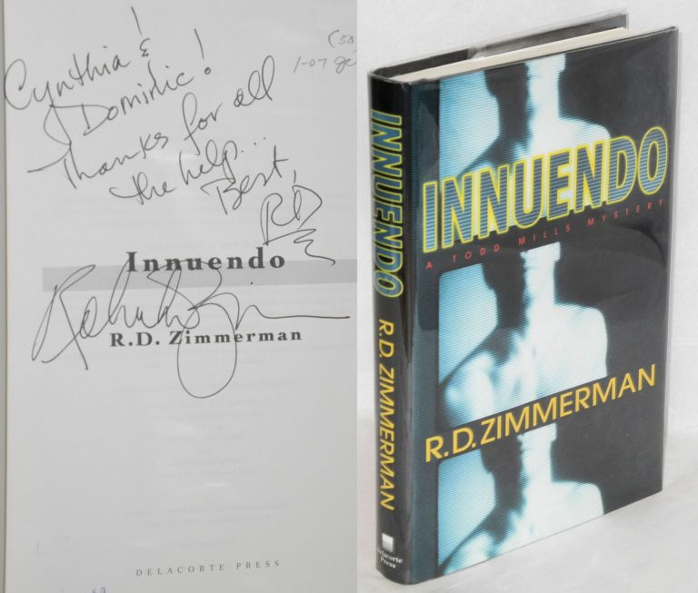 Innuendo a Todd Mills mystery. R. D. Zimmerman.