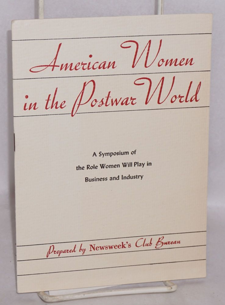 American Women in the Postwar World