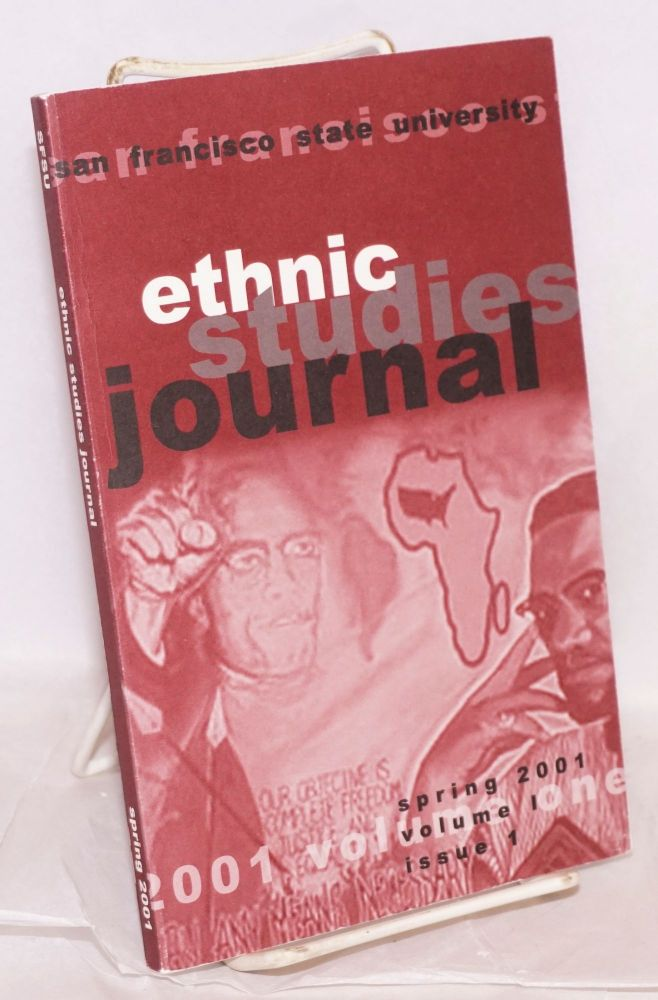 Ethnic studies journal; spring 2001 issue, volume I, issue 1