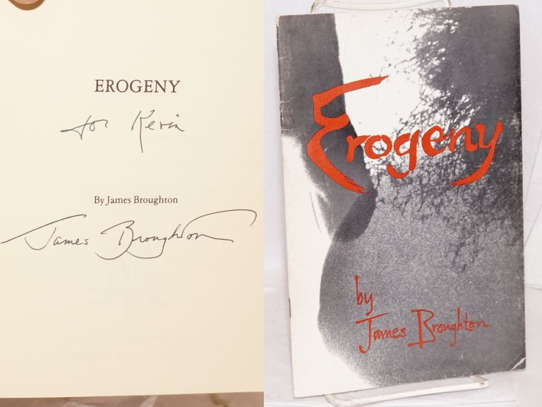Erogeny: a geographical expedition. James Broughton.