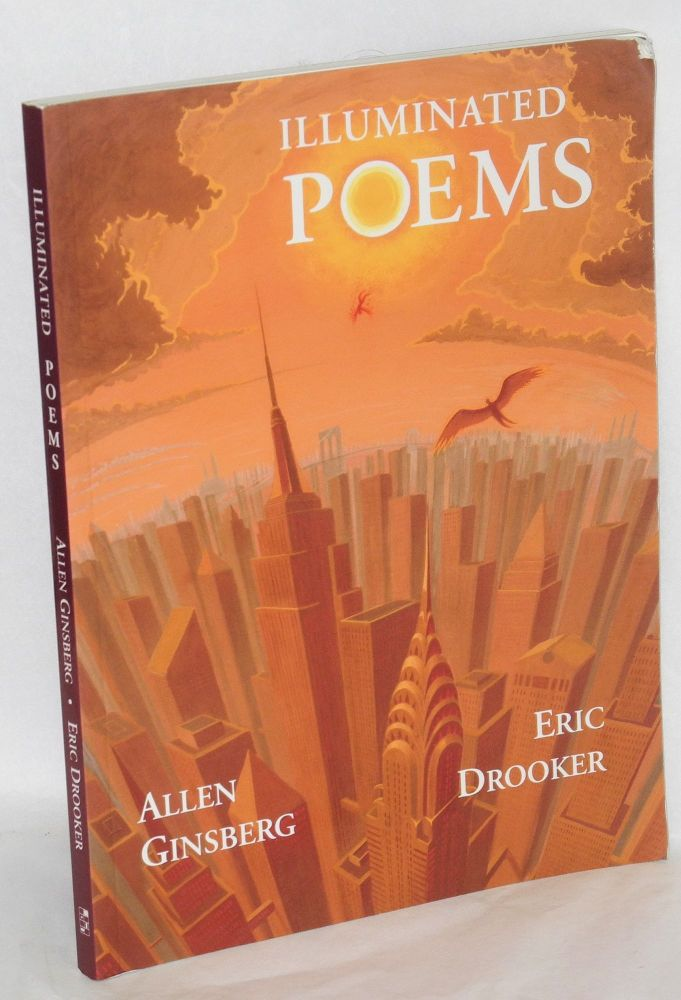 Illuminated poems. Eric Drooker, Allen Ginsberg, paintings.