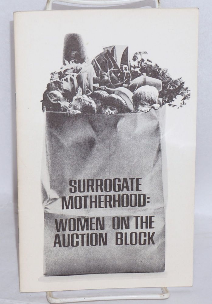 Surrogate motherhood: women on the auction block. Revolutionary Communist Party.