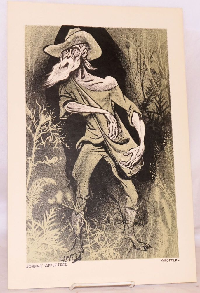 Johnny Appleseed [lithograph]. William Gropper.
