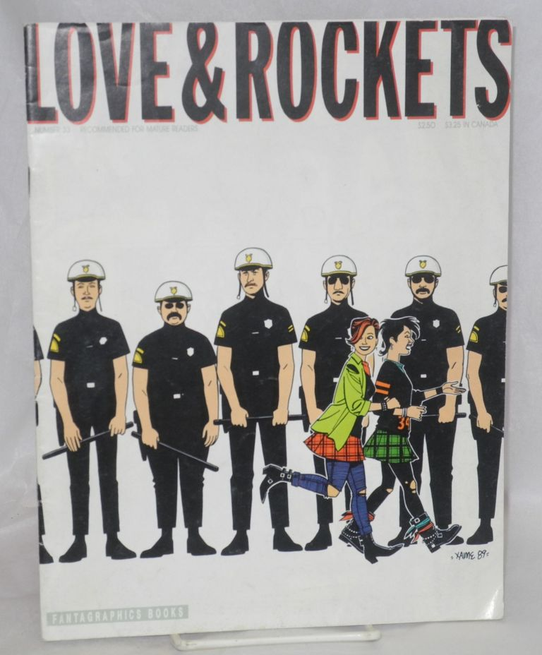 Love and rockets #33, August 1990. Jaime and Gilbert Hernandez.