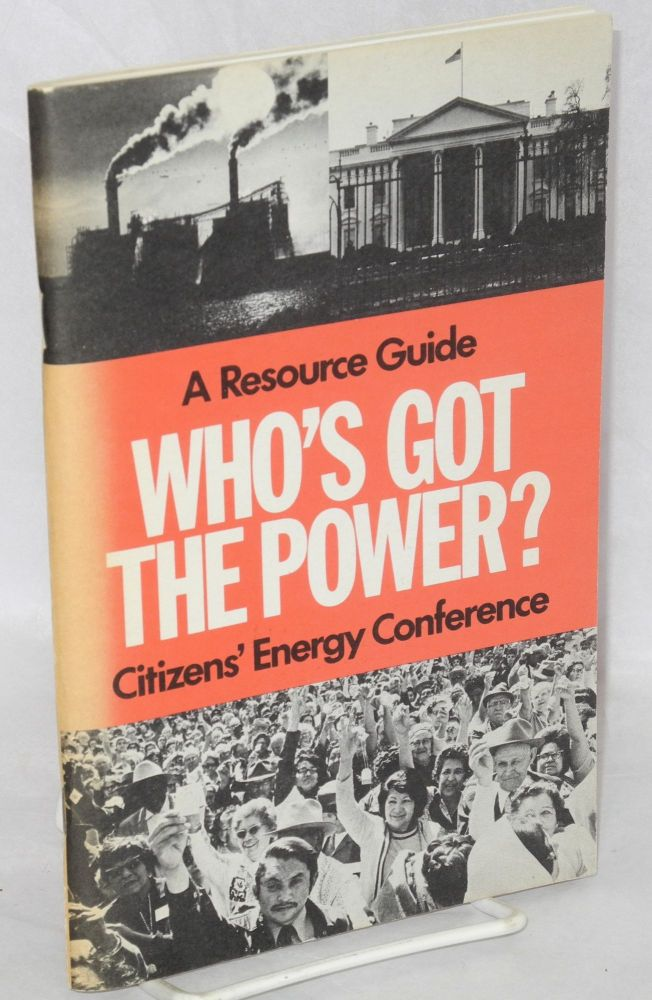Who's got the power: a resource guide. Susan Orr.