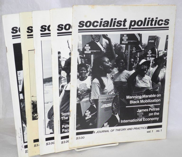Socialist Politics: a journal of theory and practice. [five issues]