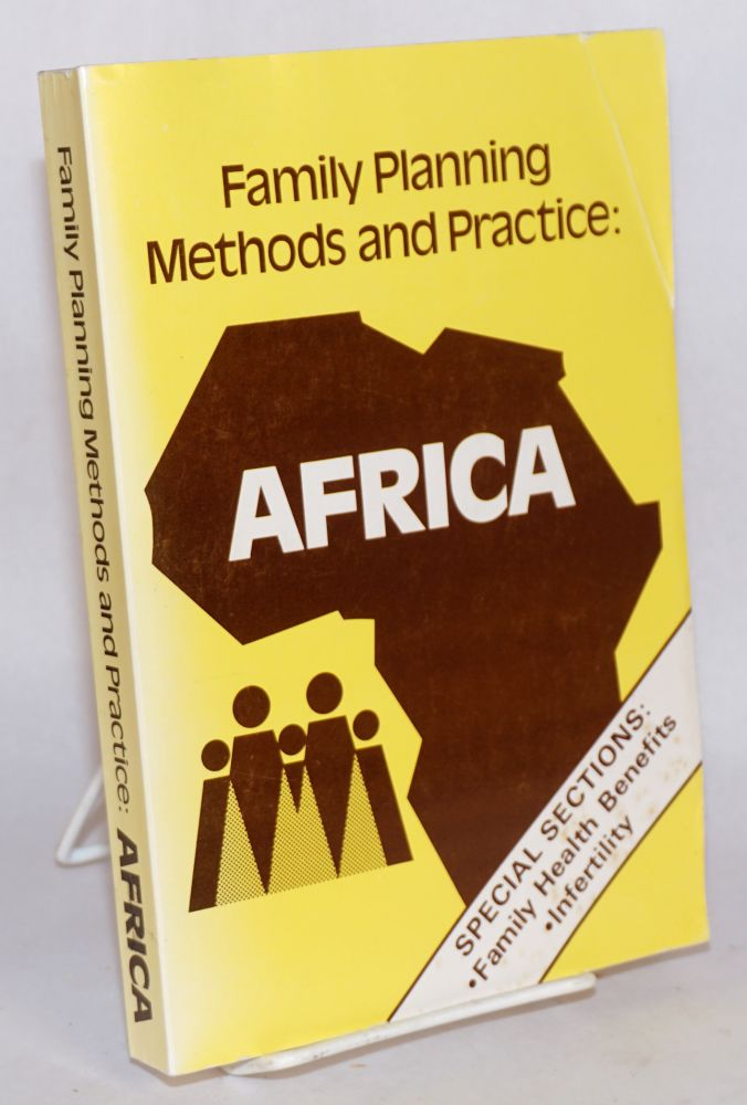Family Planning methods and practice: Africa