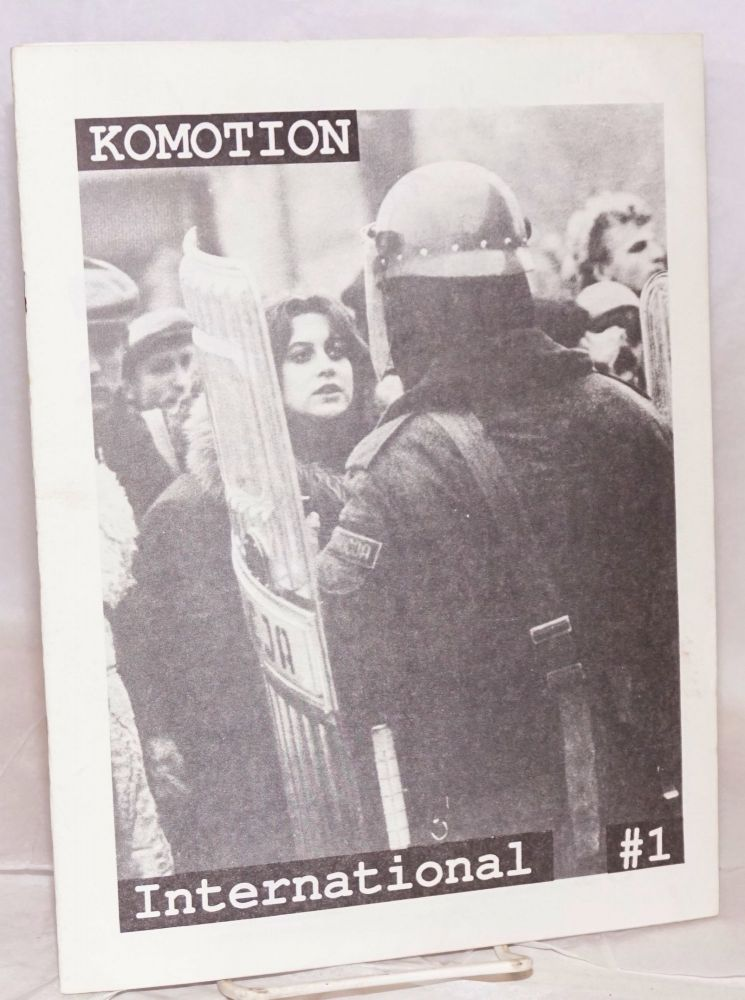 Komotion International #1. Margot Pepper, Reptile Brain, Robin Banks, Mat Callahan, Peter Plate, contributors.