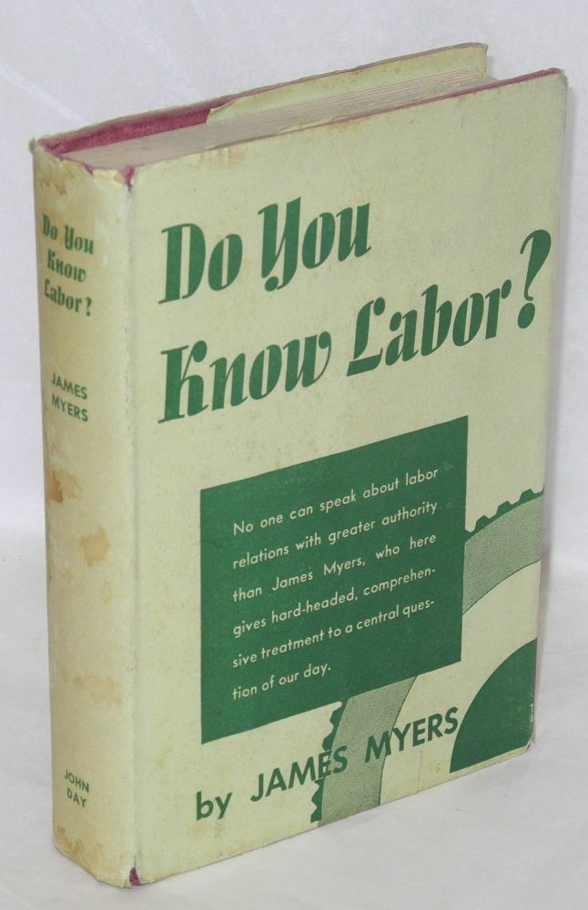 Do you know labor? James Myers.
