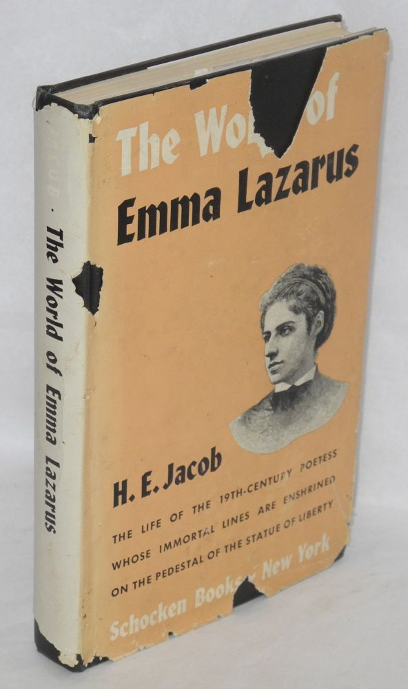 The world of Emma Lazarus. H. E. Jacob.
