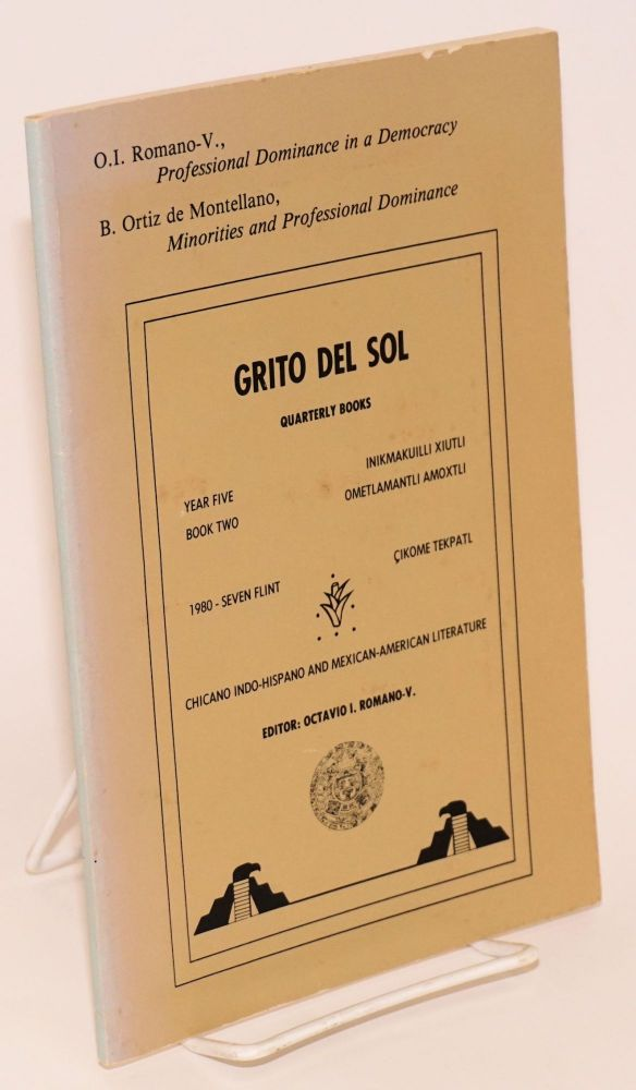 Grito del sol; quarterly books, year five, book two, 1980 - seven flint