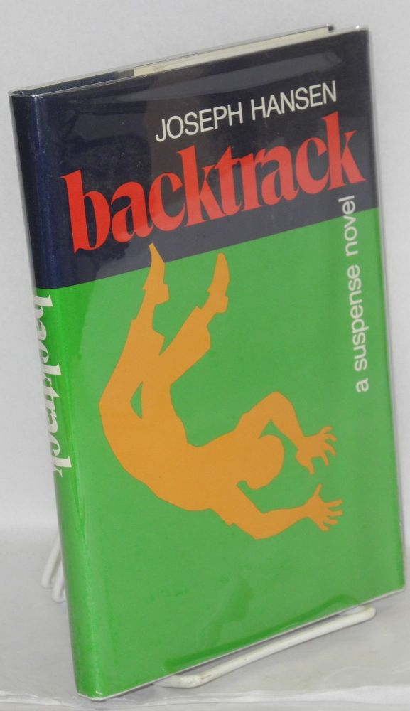 Backtrack a suspense novel. Joseph Hansen.