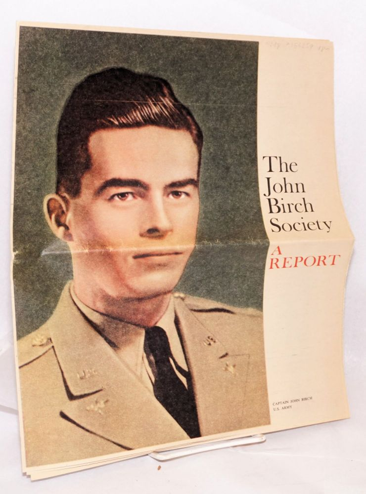 The John Birch Society: a report (advertising supplement). John Birch Society.
