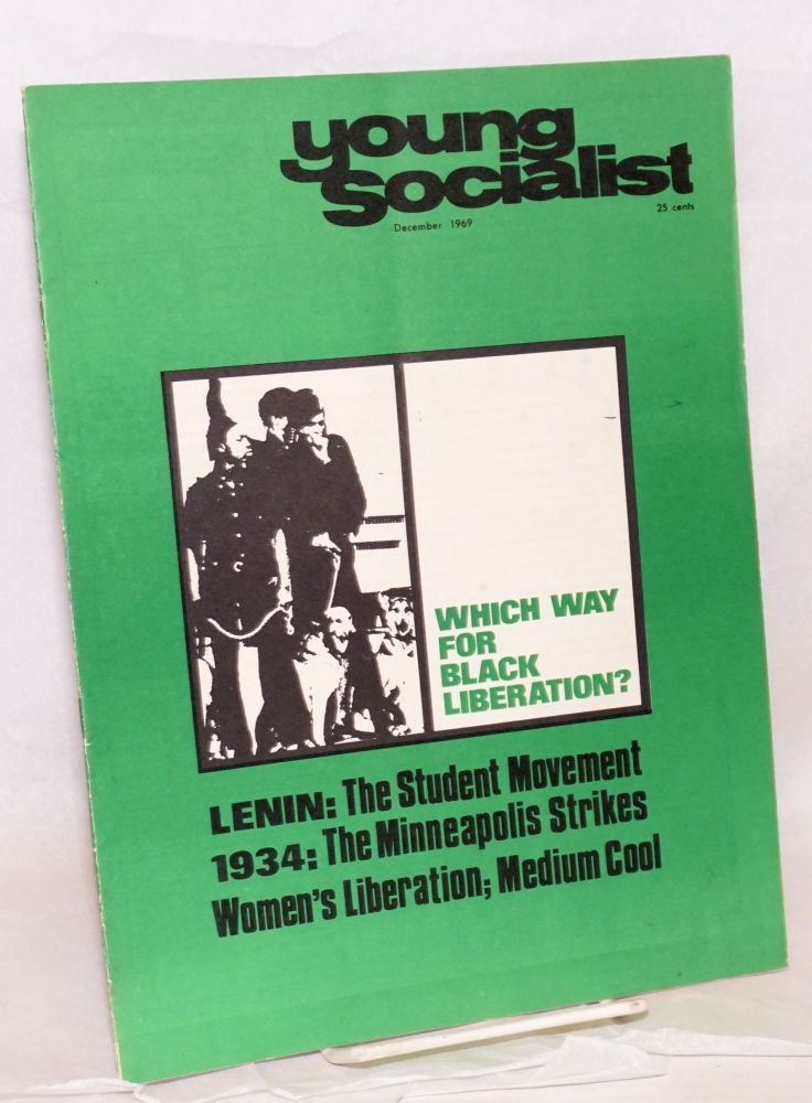 Young socialist, vol. 12, no. 12 (December 1969). Young Socialist Alliance.