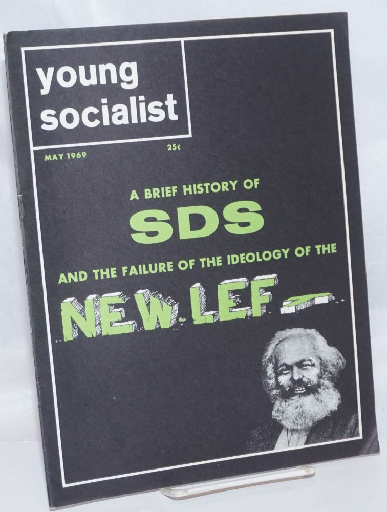 Young socialist, vol. 12, no. 6 (May 1969). Young Socialist Alliance.