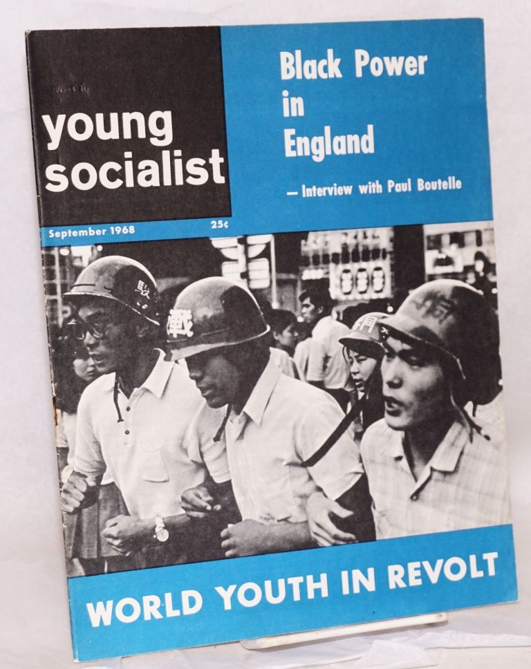 Young socialist, vol. 11, no. 11 (September 1968). Young Socialist Alliance.