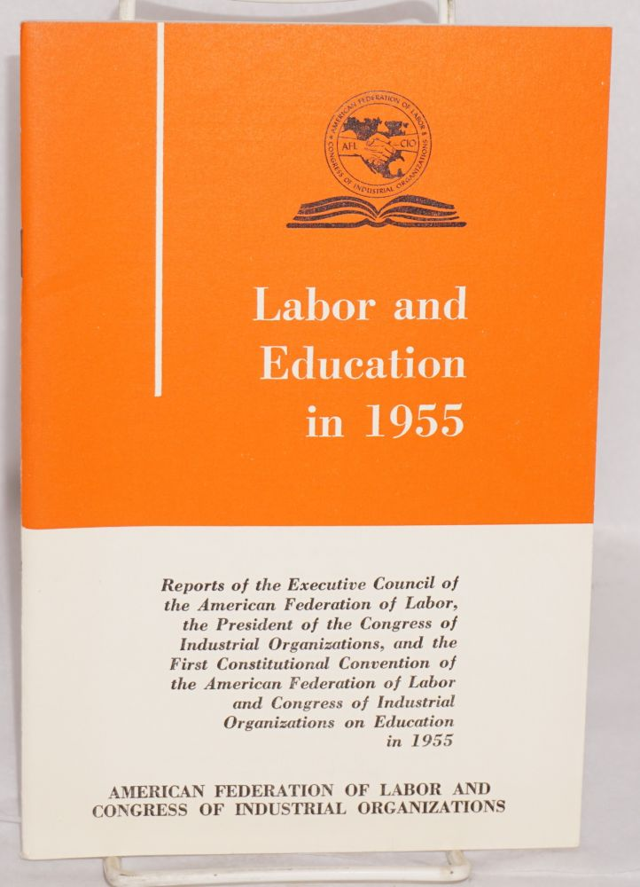 Labor and education in 1955