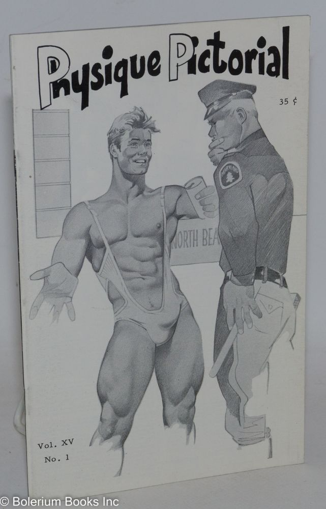 Physique pictorial vol. 15, #1, Oct. 1965. Tom of Finland, Harry Bush.