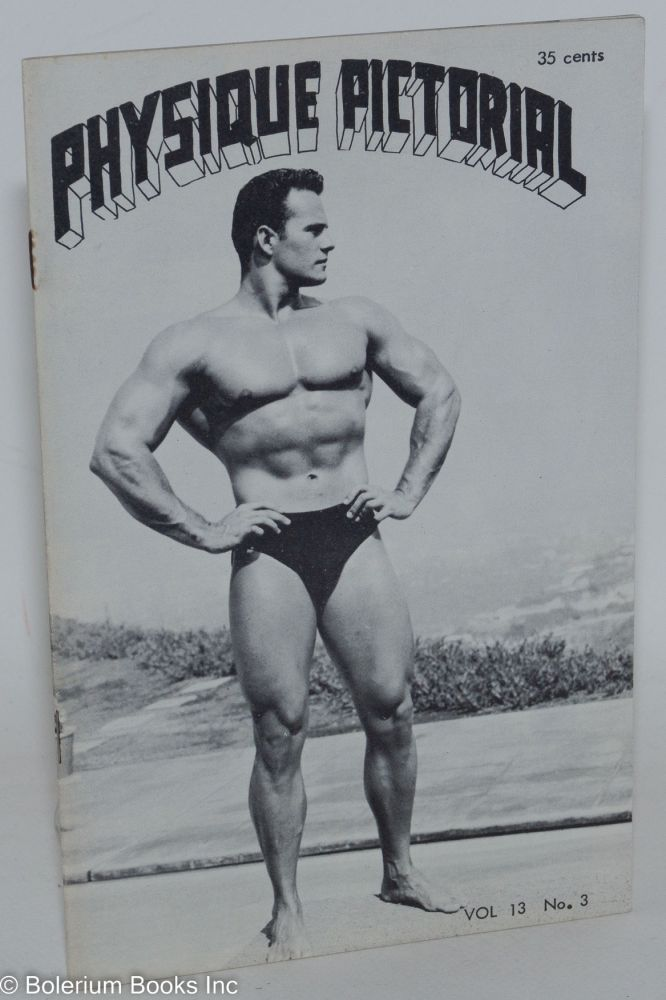Physique pictorial vol. 13, #3, February 1963. Tom of Finland.