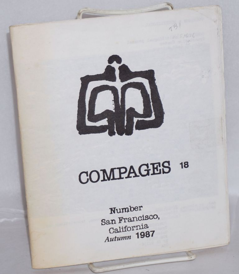 COMPAGES: a multicultural journal. Vol. 3 No. 18 (Autumn 1987)