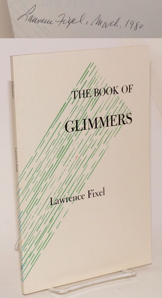 The book of glimmers. Lawrence Fixel.
