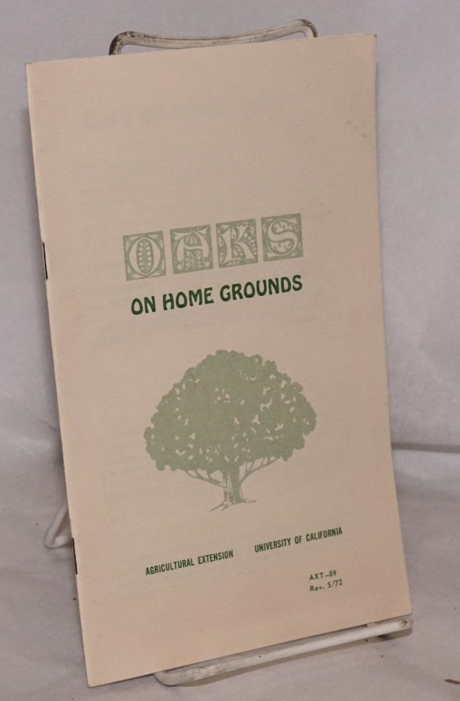 Oaks on home ground. Leland R. Brown, Clarence S. Davis.