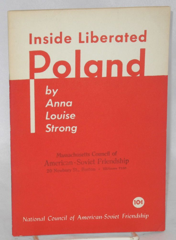 Inside liberated Poland. Anna Louise Strong.
