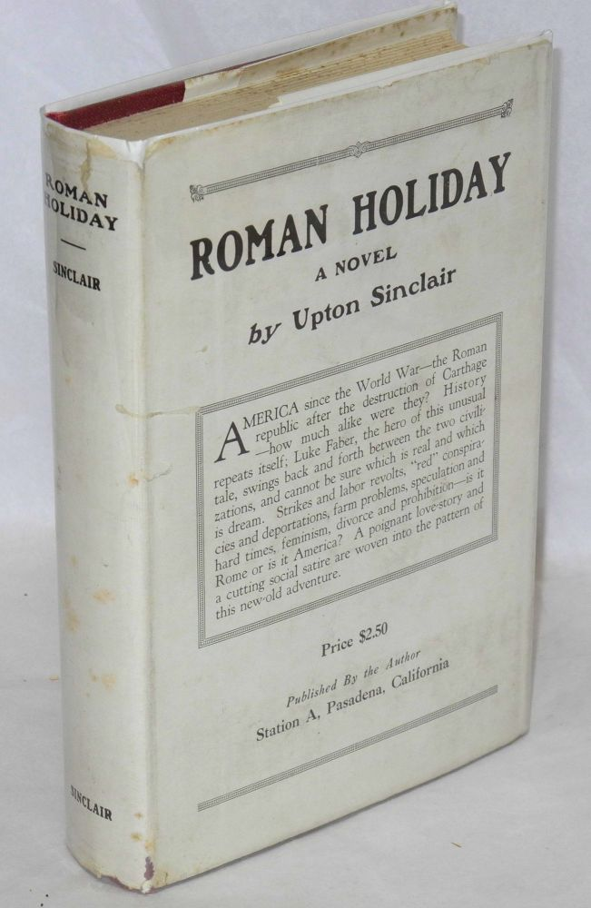 Roman holiday. Upton Sinclair.