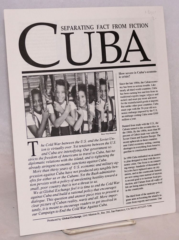 The Cuba: separating fact from fiction. Medea Benjamin, Kevin Danaher.