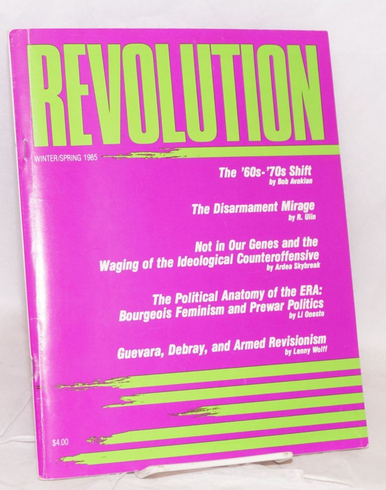 Revolution : propaganda organ of the Central Committee of the Revolutionary Communist Party (USA). No. 53 (Winter/Spring 1985)