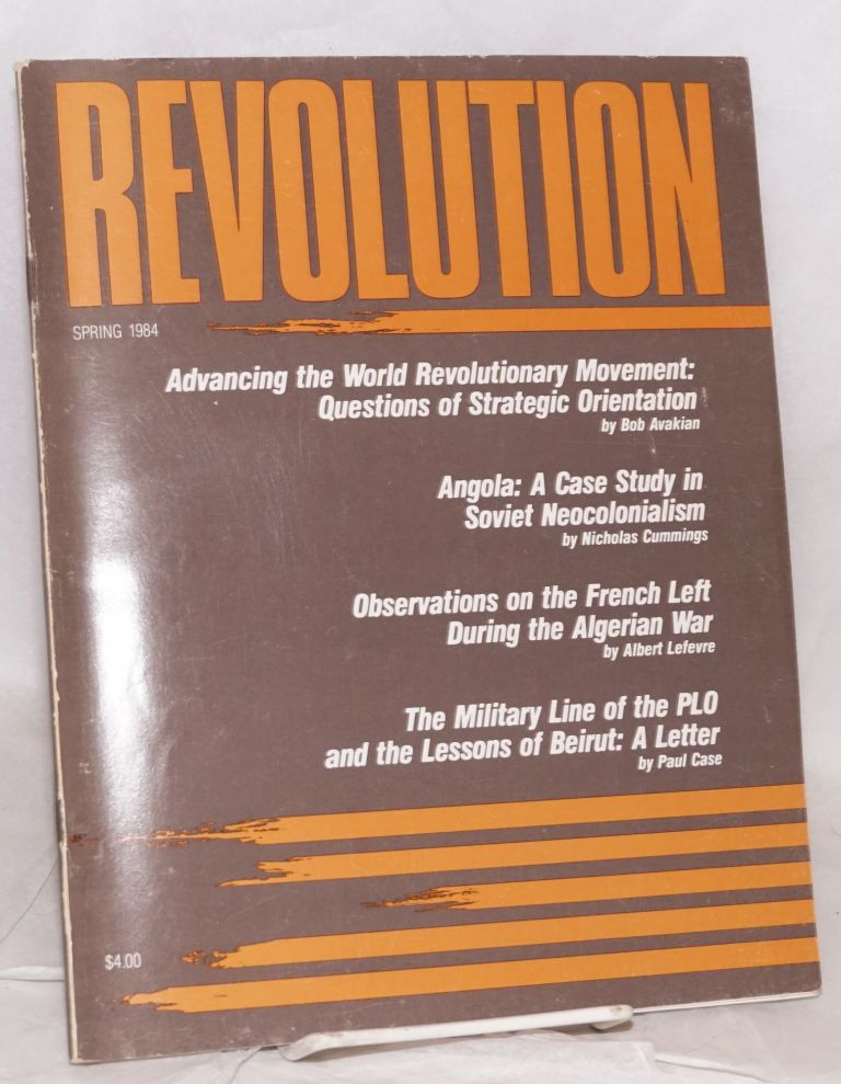 Revolution : propaganda organ of the Central Committee of the Revolutionary Communist Party (USA). No. 51 (Spring 1984)
