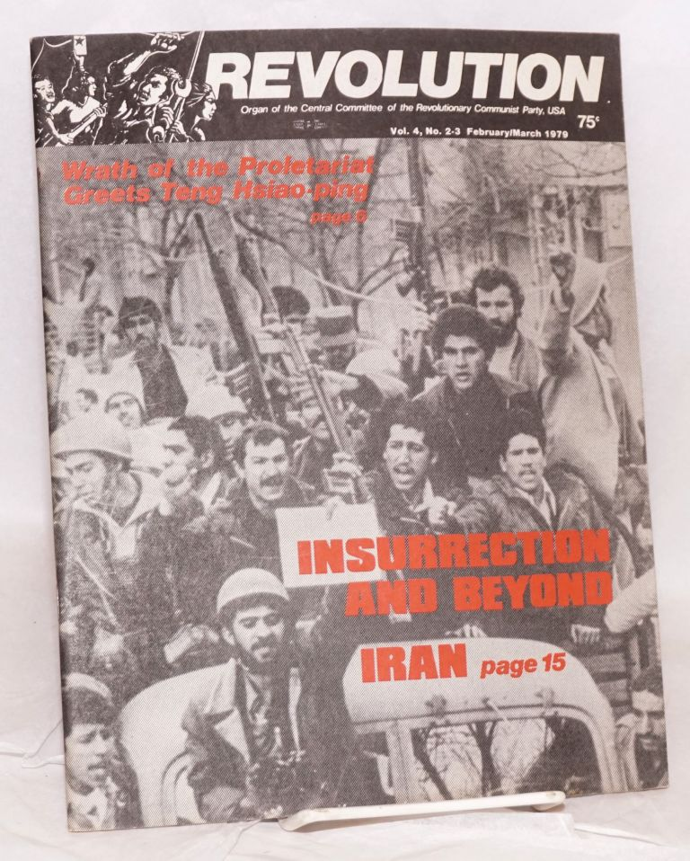 Revolution : organ of the Central Committee of the Revolutionary Communist Party (USA). Vol. 4, no. 2-3 (Feb.-March 1979)