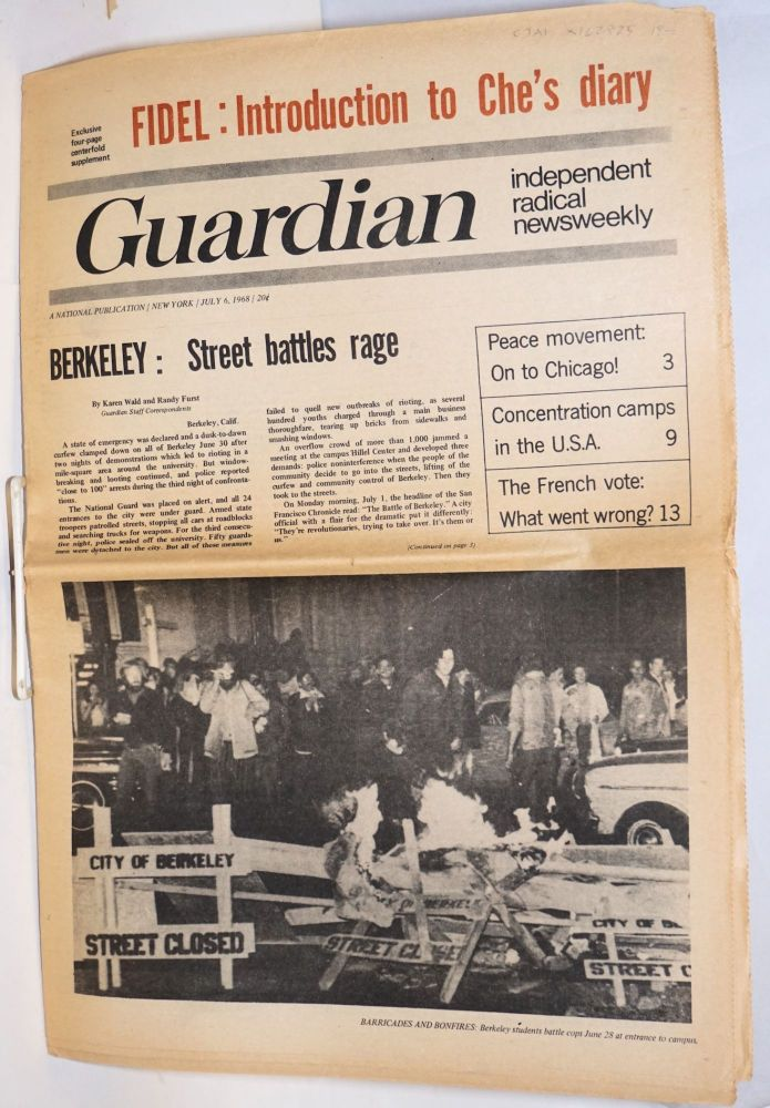 Guardian; July 6, 1968 independent radical newsweekly
