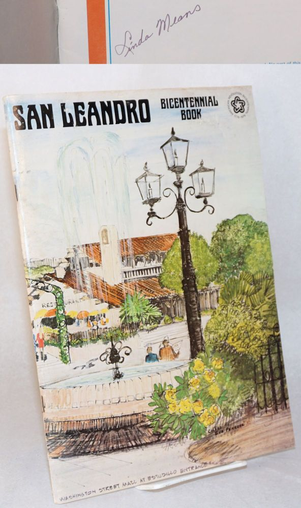 San Leandro Bicentennial book. Linda Means, photography, Glenn Means, text.
