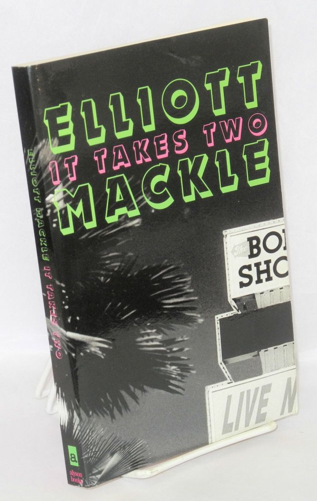 It takes two; a novel. Elliott Mackle.