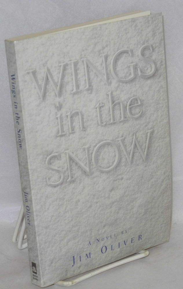 Wings in the snow. Jim Oliver.